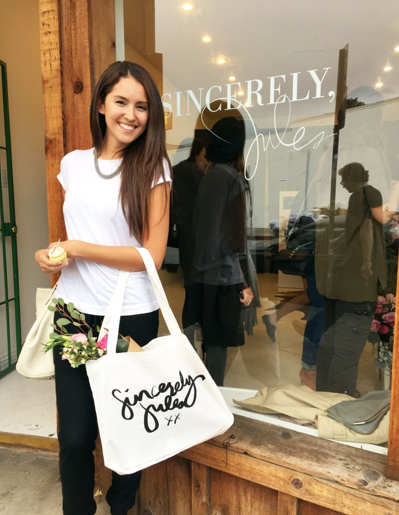 sincerely jules shop