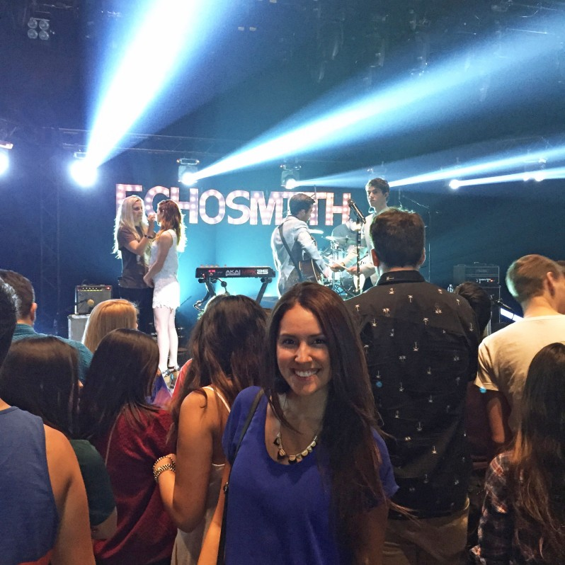 Echosmith behind the scene
