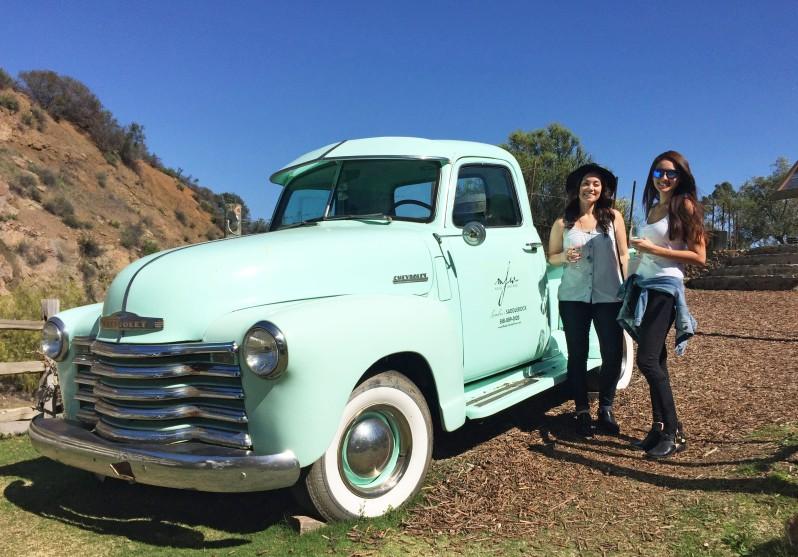 Malibu Wines Truck