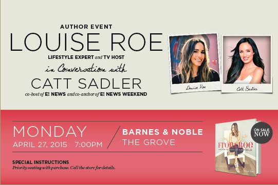 Louise Roe Book Sigining