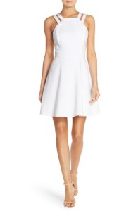 Norsdtrom white dress