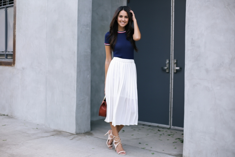 white-long-skirt