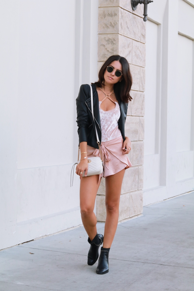 leather look for fall