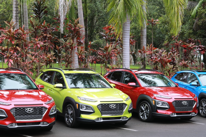 Hyundai Kona Media Introduction Hawaii